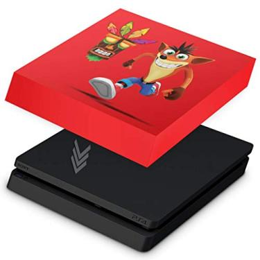 Capa Anti Poeira para PS4 Slim - Crash Bandicoot