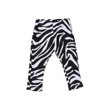 Calça Legging Boo! Kids Zebra