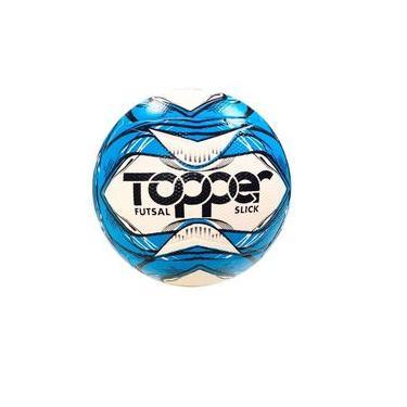 Bola Futsal Topper Slick Azul