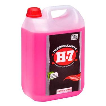 Desengraxante H7 Limpeza Pesada Multiuso Removedor 5 litro - H-7