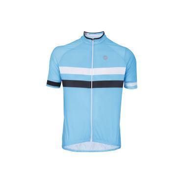 70cffab78f Camisa de Ciclismo com Proteção Solar UV Barbedo Giro - Masculina - AZUL  CLARO Barbedo