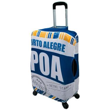 Capa Protetora Mala Viagem Tamanhos M/P/PP Elastano Porto Alegre ys27076