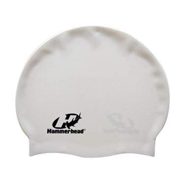Touca De Silicone Premium Hammerhead Unissex Branco Único