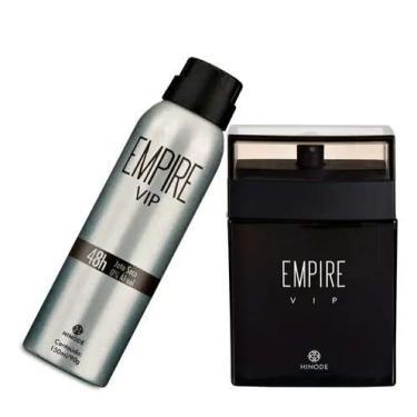 Imagem de Kit Perfume e Desodorante New Empire Vip Hinode