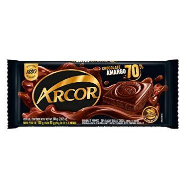 Tablete de Chocolate Amargo 70% 80g - Arcor