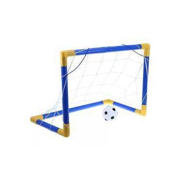 Imagem de Golzinho de Futebol Trave Gol De Craque Infantil