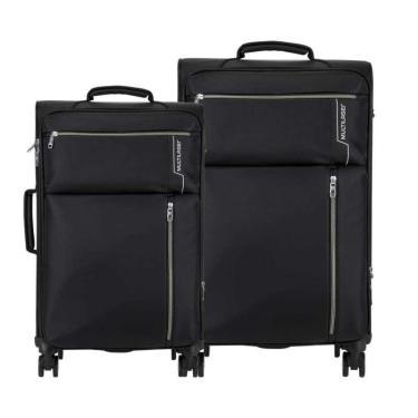 Conjunto de Malas Travel Bags 4 Rodas 20 e 24 Polegadas Preto Multilaser - BO421 - Padrão