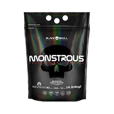 Monstrous 10lbs - Black Skull