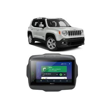 Central Multimídia Jeep Renegade Pcd 2015 A 2020 Pioneer 8 Polegadas Espelhamento Bt Usb Sd Tv Digital