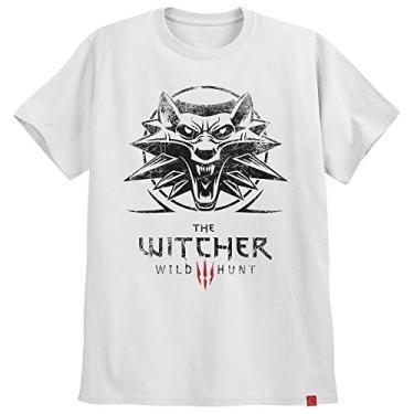 Camiseta The Witcher Wild Hunt Ps4 Jogos Games Geralt Wolf P