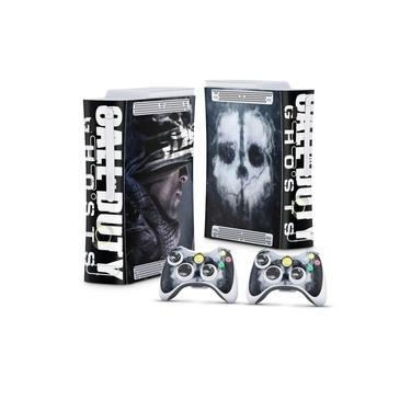 Skin Adesivo para Xbox 360 Fat Arcade - Call Of Duty Ghosts