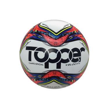 Bola Futebol Oficial Campo Velocity Samba Topper Original Nf