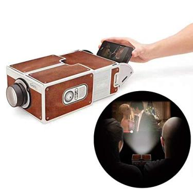 Projetor de celular Outgeek para projetor criativo de mini projetor de projetor de smartphone