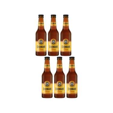 Cerveja Eisenbahn Pilsen 6 Unidades - 355ml