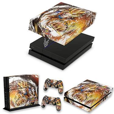 Capa Anti Poeira e Skin para PS4 Fat - Dragon Ball Fighterz