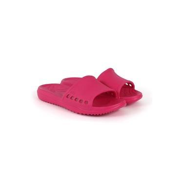 Imagem de Chinelo Slide Life Feminino EVA Confortável Dia a Dia Verão Rosa