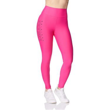 Calça Legging Colcci Fitness, Feminino, Rosa Alber, G