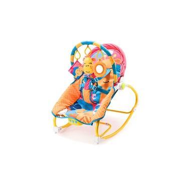 Cadeira de Balanço Para Bebês 0-20Kg Multikids Baby Little Buddy's Girafa à Pilhas - BB364