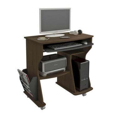 9b82921bd Mesa para Computador Amêndoa   Preto