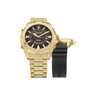 f666f0799ab55 Relógio de Pulso Technos Analógico Digital Silicone   Joalheria   Comparar  preço de Relógio de Pulso - Zoom