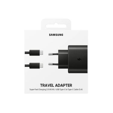 Carregador Ultra Fast Charge 45w Original Samsung Para Galaxy Note 10 PLUS S20 S20 Ultra 2 USB-C
