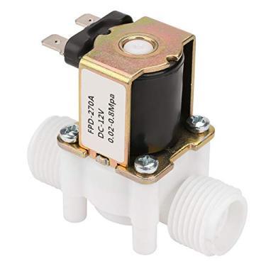 """Válvula de água controlada por solenóide 12V Válvula solenóide de água 12V G1 / 2""""NC Distribuidor de água de irrigação por spray para máquina de lavar roupa"""
