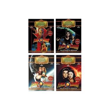 Imagem de Kit Box Flash Gordon Coleção Super Heróis Ed. Colecionador - 07 Discos