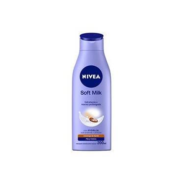 Loção Hidratante Nivea Body Soft Milk Pele Seca