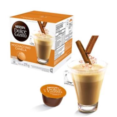 Capsulas Dolce Gusto Mochaccino Canela 16 capsulas - Nescafé dolce gus