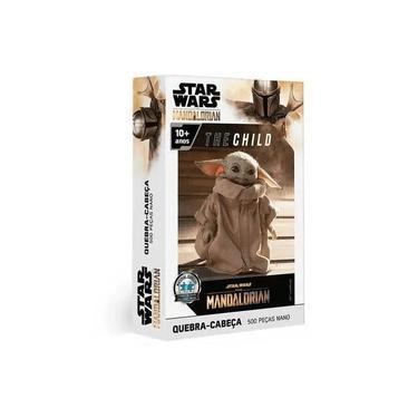 Imagem de Puzzle Quebra Cabeça Star Wars The Mandalorian 500 Peças Toyster