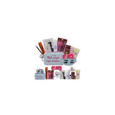 Imagem de Kit Design Sobrancelhas Henna Makiaj com Necessaire Glow Pink