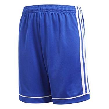 Shorts Adidas Youth Futebol Esquadra 17, Bold Blue/White, Large