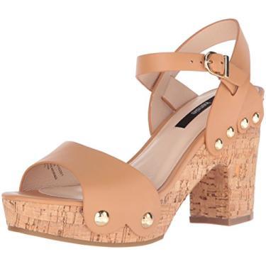 Sandália feminina plataforma Belmont Kensie, Tan, 10