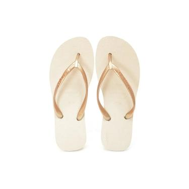 Havaianas High Light Bege palha