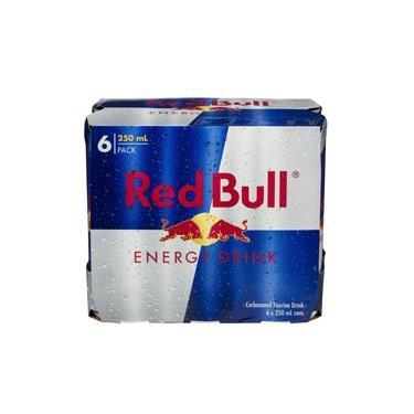 Bebida energética RED BULL - Red Bull - Pack com 6 unid. de 250 ml