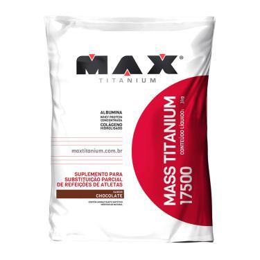 Mass Titanium 17500 Max Titanium Chocolate com 3kg