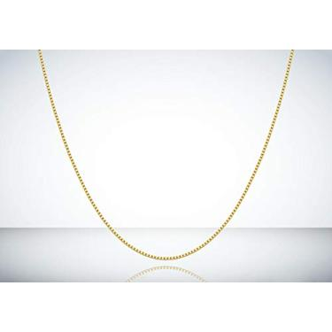 Corrente Cordão Ouro 18k 750 Veneziana 45cm
