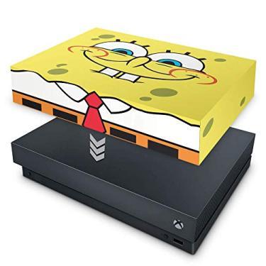 Capa Anti Poeira para Xbox One X - Bob Esponja