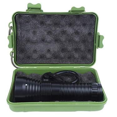 Lanterna de mergulho, cinco modos de regulação luz forte para acampamento ao ar livre de longo alcance, funções poderosas para atividades de mergulho, acampamento de emergência, caminhadas