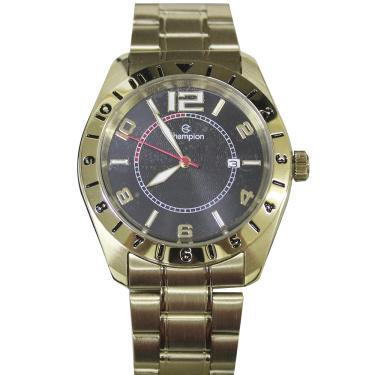 db9b522ad4a Relógio Masculino Champion CA30187X Dourado