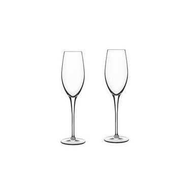 Jogo De Taças Champagne Luigi Bormioli Royale 210ml 6 Pçs