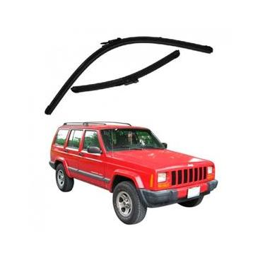Kit Palhetas Limpador de Parabrisa Dianteiro Jeep Cherokee Ano 1993 - 1998