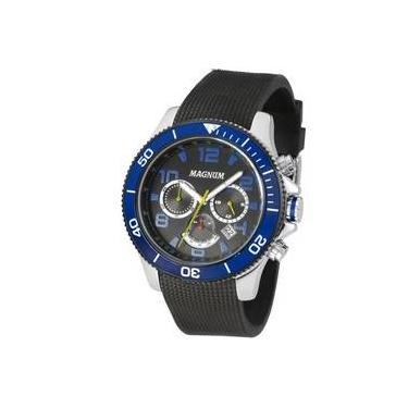 841c2a40d3a Relógio Magnum Cronógrafo Analógico Masculino Ma33308a