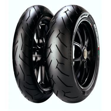 Pneu Pirelli Diablo Rosso 2 140/70-17 + 110/70-17 Combo