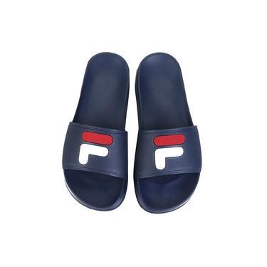 Chinelo Fila F-Slider 2.0 Masculino - Azul e Vermelho