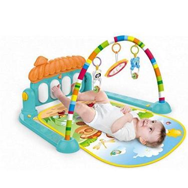 Imagem de Tapete De Atividades Interativo Bebê Piano Musical Verde