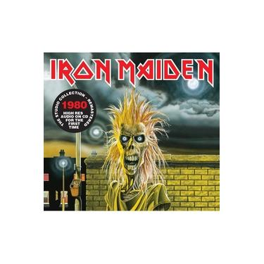 Cd Iron Maiden- Iron Maiden (1980) - Remastered