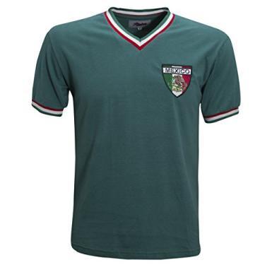 Camisa Liga Retrô México 1970