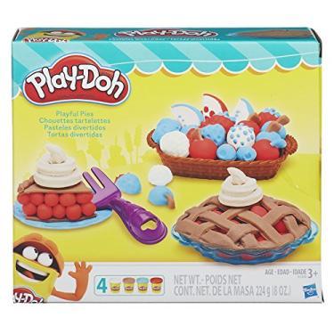 Imagem de Conjunto Massinha Play-doh Tortas Divertidas Play-doh Conjunto Massinha Play-doh Tortas Divertidas Multicor