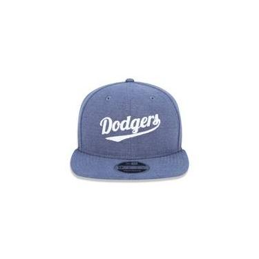 fd09ea3b32b8f Bone 950 Original Fit Los Angeles Dodgers Mlb Aba Reta Snapback Azul New Era